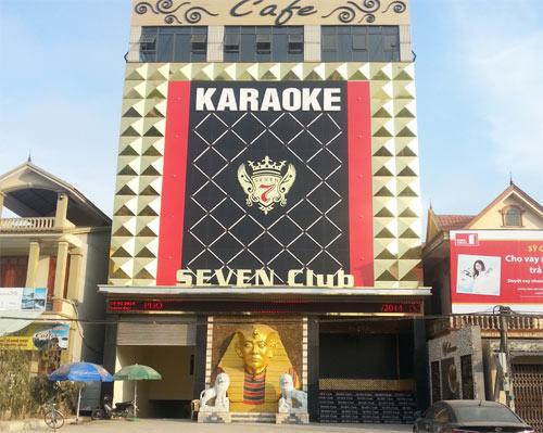 Biển Hiệu Quảng Cáo Karaoke Đẹp
